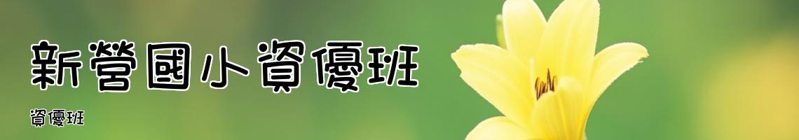 Web Title:資優班